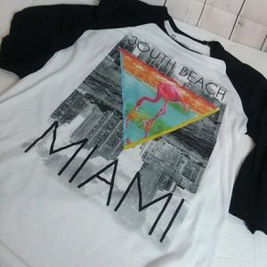 BOWWEY SUPPLY CO 'South Beach Miami' t-shirt